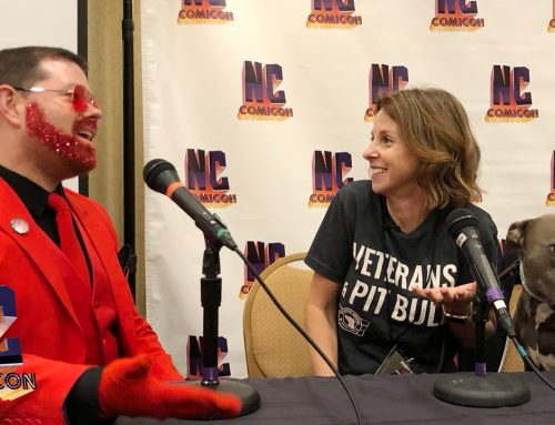 NC Comicon Panel Discussion: Service Dogs & Veterans with PTSD